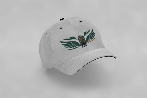 электровоз с крыльями кепка