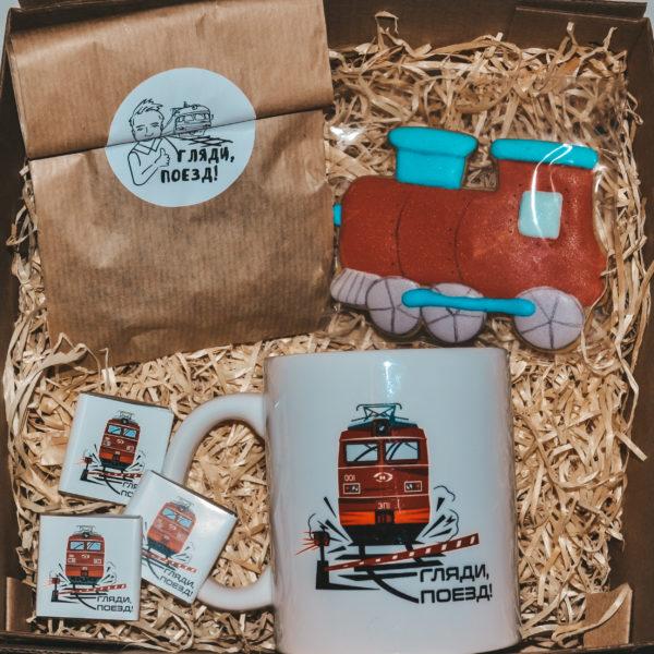 набор подарочный поезд